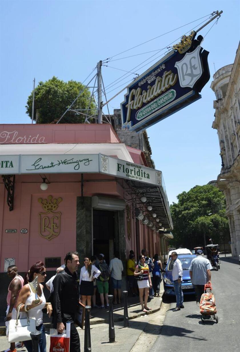 """Fachada del Restaurante Bar """"El Floridita"""". EFE/Archivo"""
