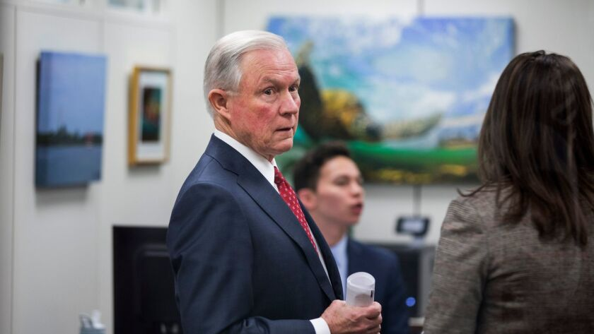 Jeff Sessions, President-elect Donald Trump's pick for attorney general.