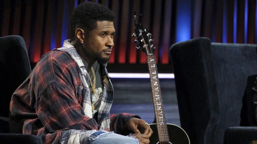 "Usher on NBC's ""Songland."""
