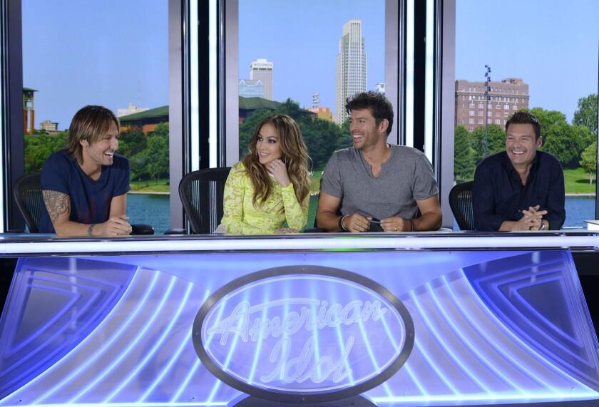 Keith Urban, Jennifer Lopez, Harry Connick Jr., Ryan Seacrest