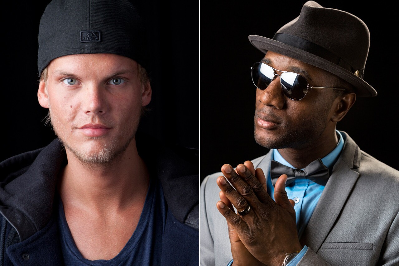 """When an internationally known DJ meets a soul singer you get ... Electro-bluegrass? Swedish DJ Avicii teamed up with Blacc for the single """"Wake Me Up,"""" a hyper, electronic dance single with country flair. Avicii's stray from the traditional proved successful; the track reigned as No. 1 in 22 countries since its summertime debut."""