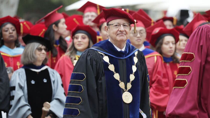 USC President C. L. Max Nikias is facing criticism over the handling of a campus gynecologist accused of mistreating student patients for years before he was quietly forced out in 2017 with a financial settlement.