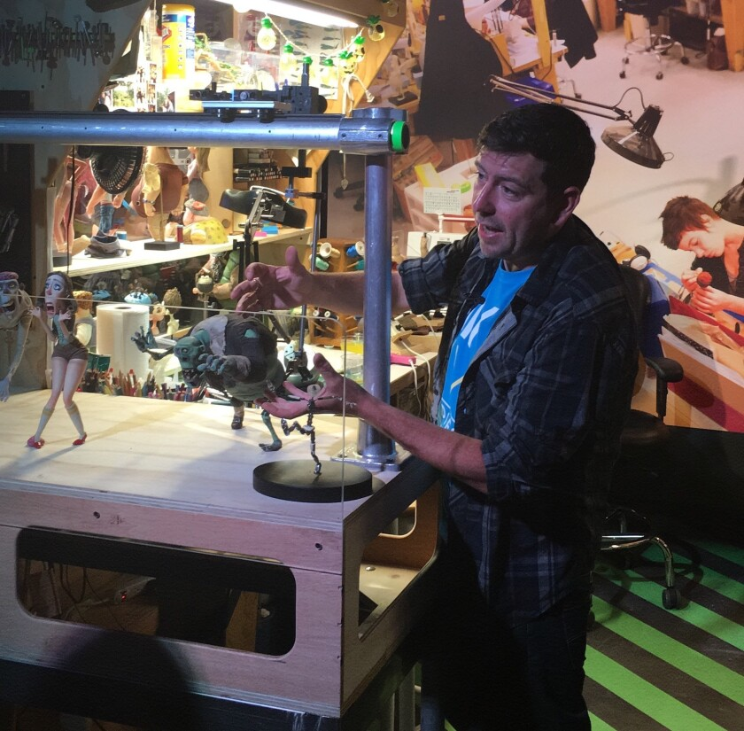 A curator discusses the process behind making the characters in ParaNorman.