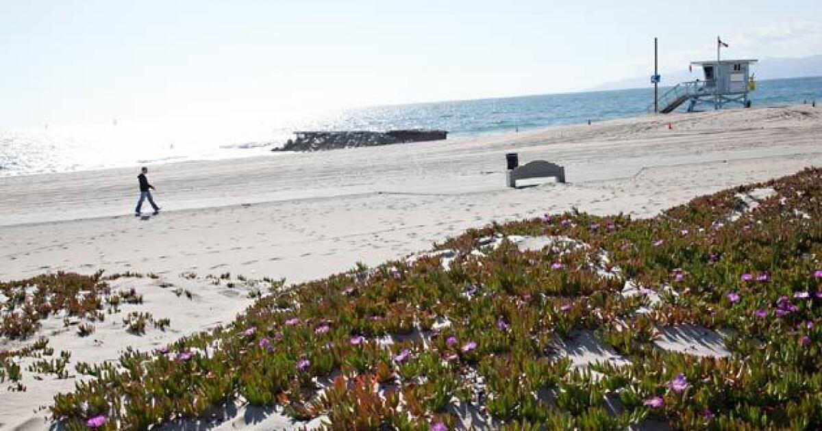 Παραλία Dockweiler, στο Λος Αντζελες θα μπορούσε να χρησιμοποιηθεί ως coronavirus ζώνη απομόνωσης