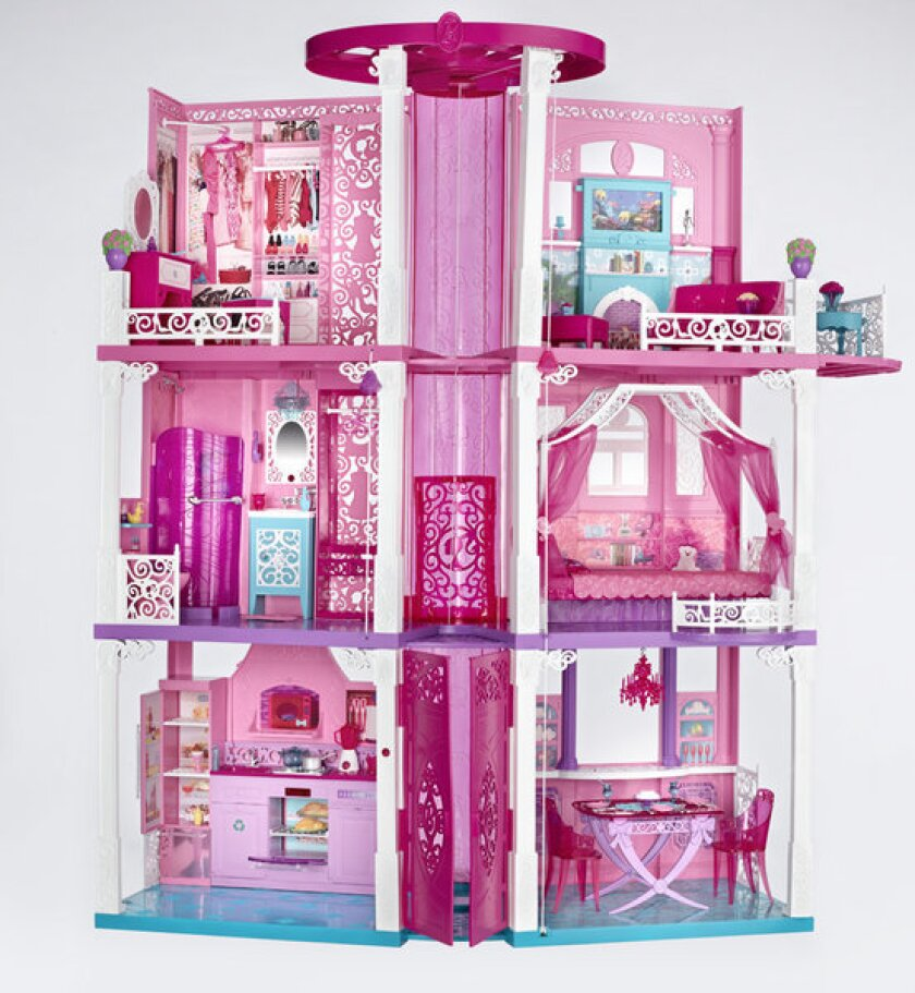 Barbie's 2013 Dream House play set