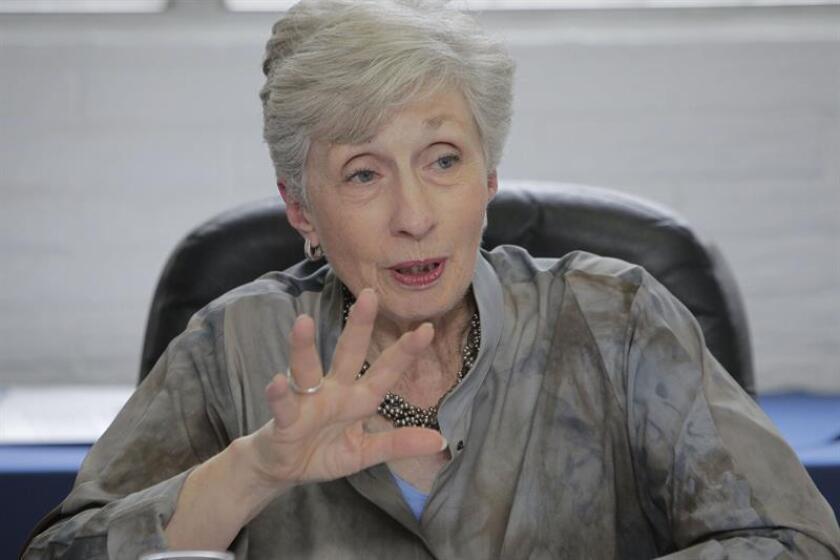Doris Meissner, directora del Programa de Políticas de Inmigración de los EE.UU. de MPI. EFE/ARCHIVO