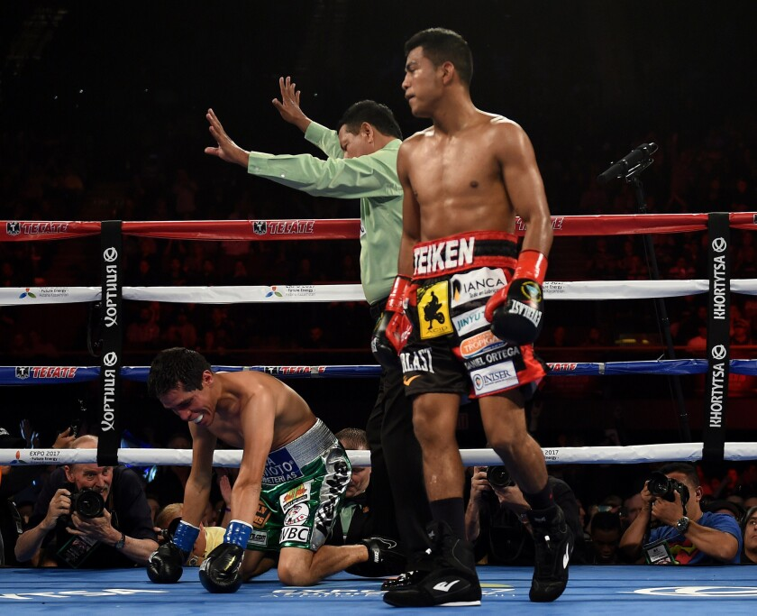 Roman Gonzalez knocks out Edgar Sosa