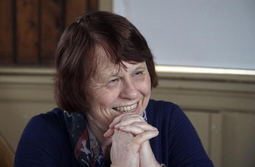 Ewine van Dishoeck, presidenta de la Unión Astronómica Internacional (IAU) durante la entrevista concedida a Efe. EFE