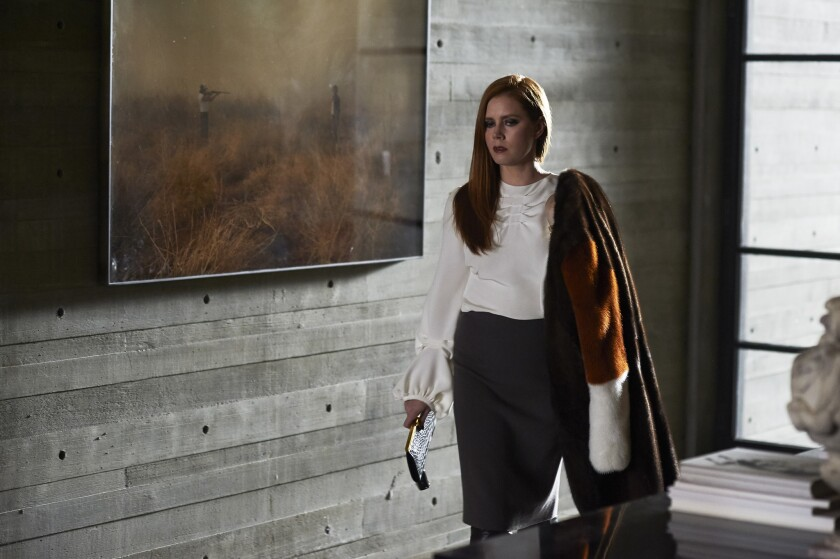 "Amy Adams stars as Susan Morrow in writer-director Tom Ford's romantic thriller ""Nocturnal Animals."""