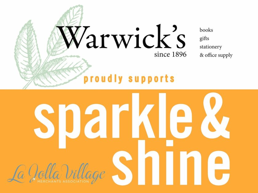 As part of its 'Sparkle & Shine' campaign, La Jolla Village Merchants Association will launch a trash pickup service by month's end. Business owners can sponsor the program and have their name and logo displayed on an equipment pushcart or polo shirts worn by cleaning personnel.