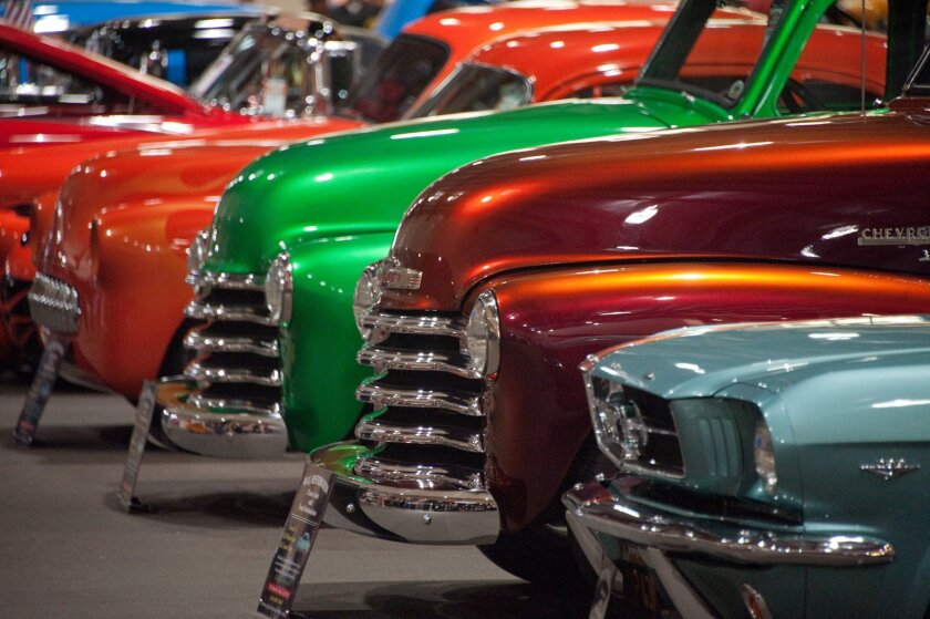 Chrome & vivid paint — Goodguys 2014