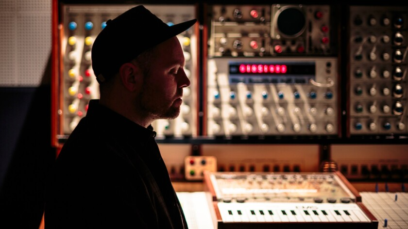 """DJ Shadow, a crucial figure in the development of instrumental hip-hop, has a new album, """"The Mountain Will Fall."""""""