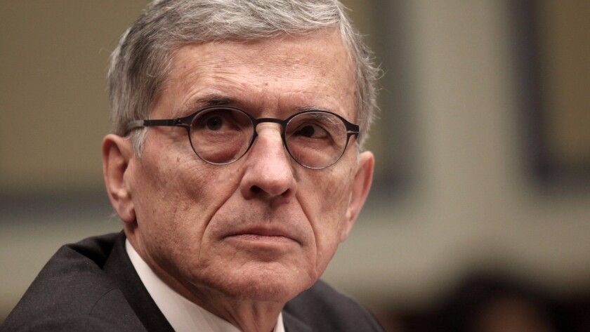 Federal Communications Commission chief Tom Wheeler implied the Internet risks becoming divided into privacy haves and have-nots.