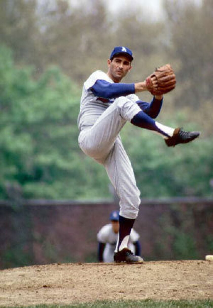 Sandy Koufax is the greatest Dodger of all time.