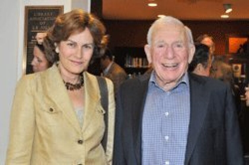 Dr. Holly Given, guest speaker Dr. Walter Munk. See page 30 for more photos. Photo/McKenzie Images