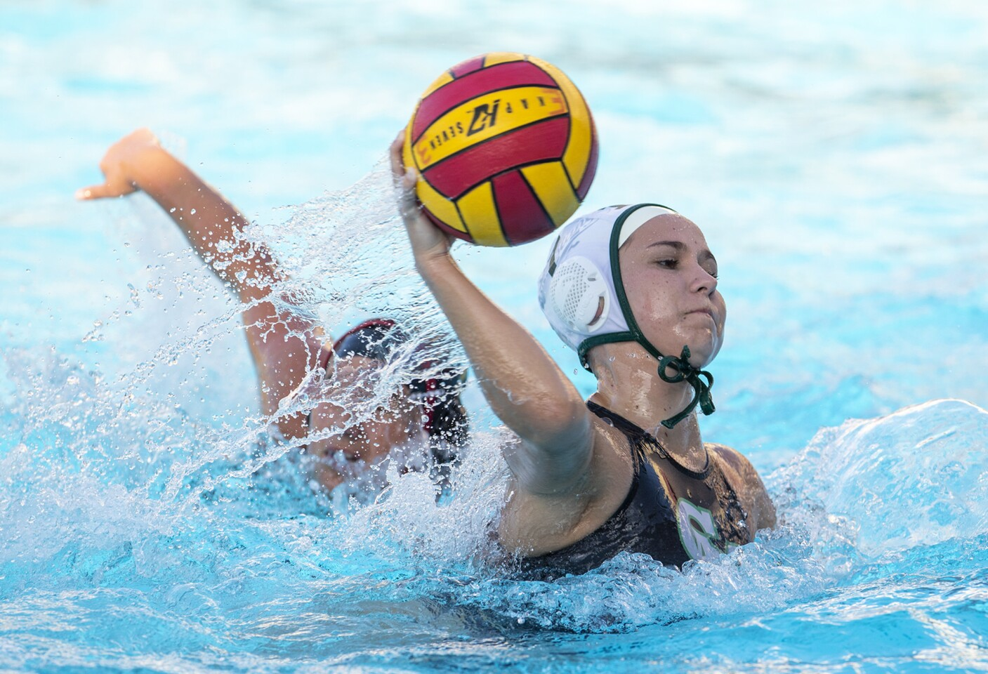 Photo Gallery: Costa Mesa vs. Estancia in girls' water polo