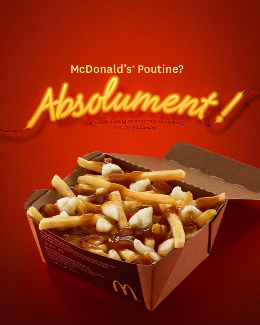 McDonald's poutine