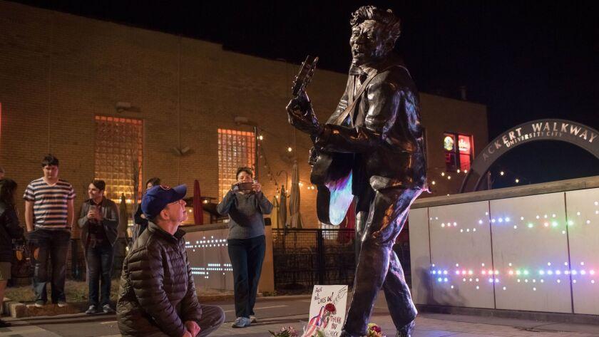 Chuck Berry Memorial in St. Louis