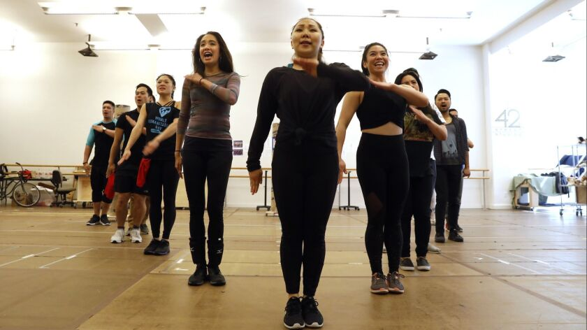 """NEW YORK, NEW YORK--APRIL 13, 2018--""""Soft Power,"""" a new musical by playwright David Henry Hwang will"""