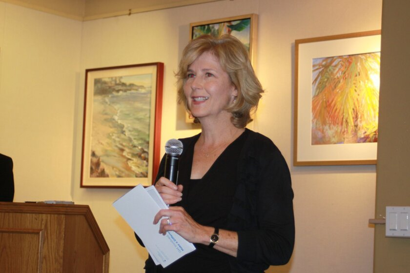 La Jolla Community Foundation executive director Julie Bronstein
