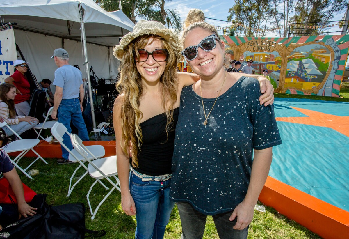The Fern Street Circus treated San Diegans to a free carnival in the park featuring jugglers, clowns, acrobats and more on Saturday, Feb. 17, 2018 at Cesar Chavez Park in Barrio Logan.