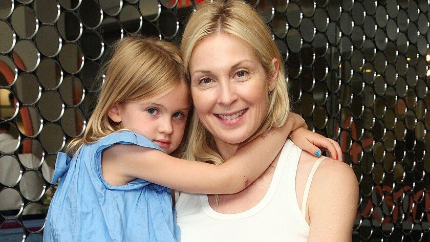 Kelly Rutherford with daughter Helena