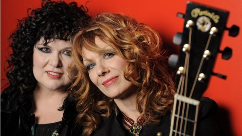 Heart, featuring San Diego native Ann Wilson (left) and her sister, Nancy (right), is one of the Rock and Roll Hall of fame's 2012 nominees. So is the band War, led by San Diego native Lonnie Jordan.