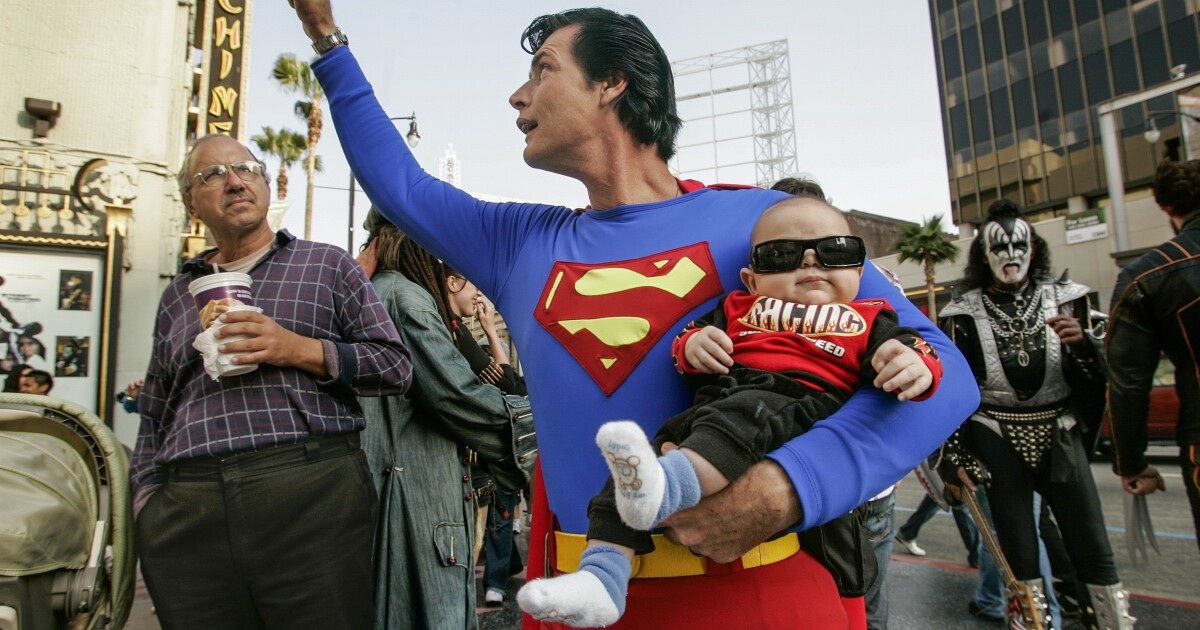 How Hollywood Boulevard's star Superman wound up homeless, then dead in the Valley
