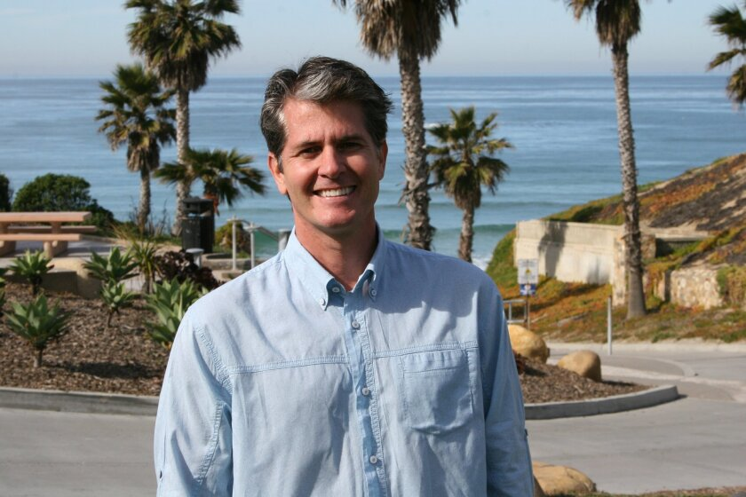 Solana Beach Councilman Mike Nichols is embarking on his third term. 'When you do things to make a change for the better, it just feels good, and I really enjoy being a part of that,' he says.