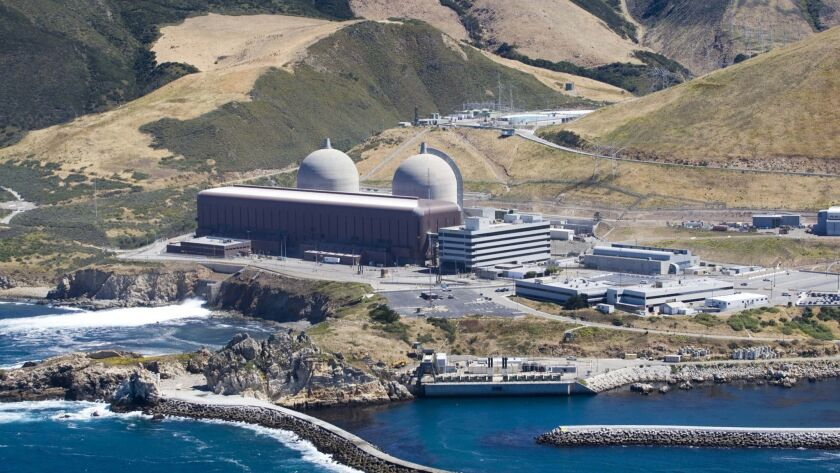 The Diablo Canyon nuclear plant in San Luis Obispo County, Calif.