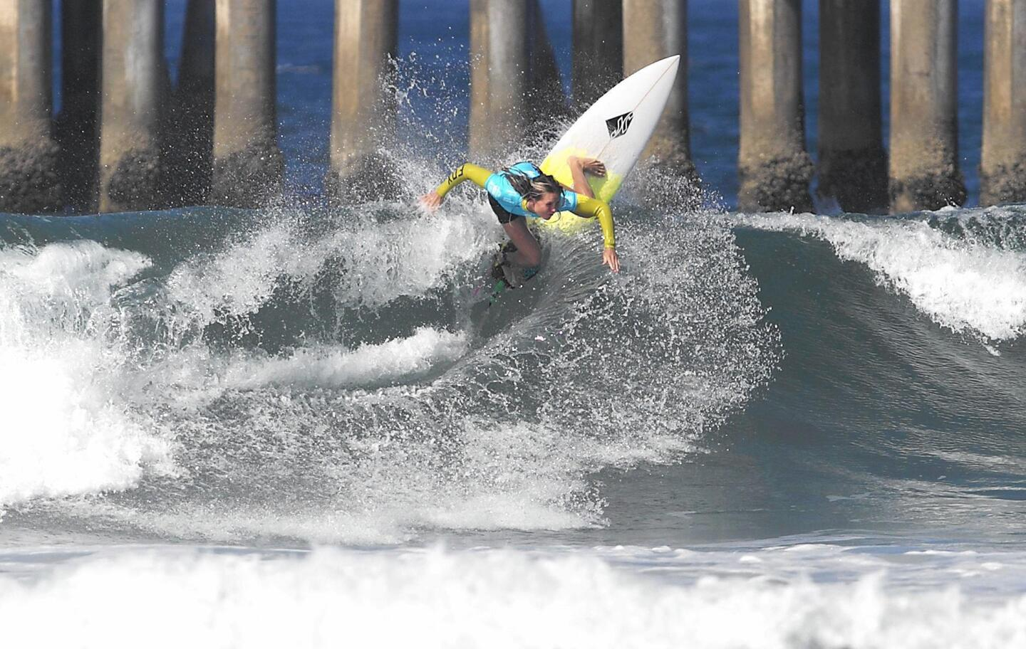 U.S. Open of Surfing, Round 2