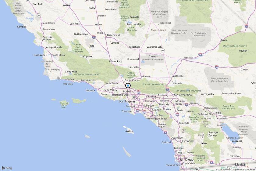 Earthquake: 3.4 quake strikes near San Fernando