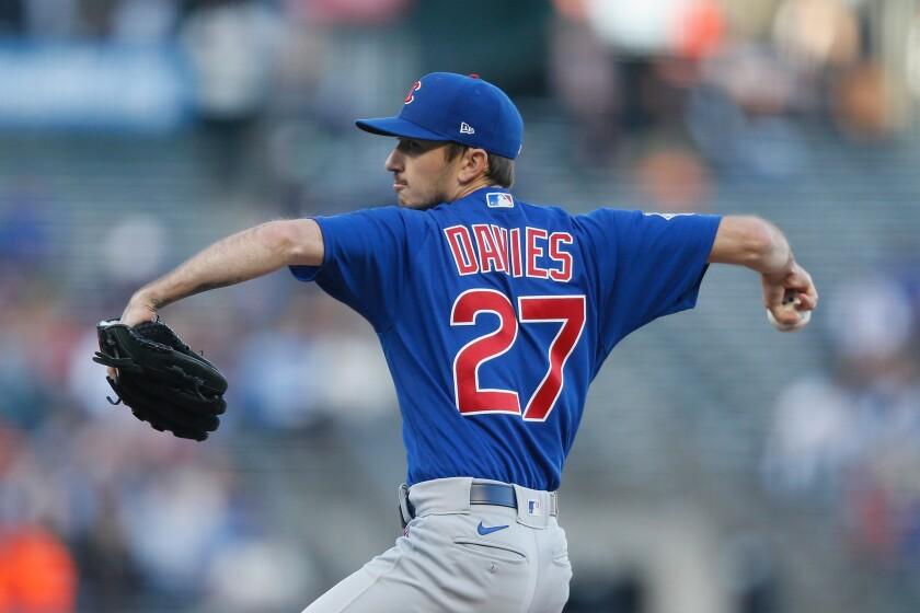 The Cubs' Zach Davies