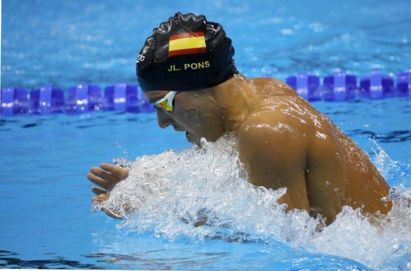 Joanllu Pons queda fuera de las finales de 200 metros libres y 200 mariposa