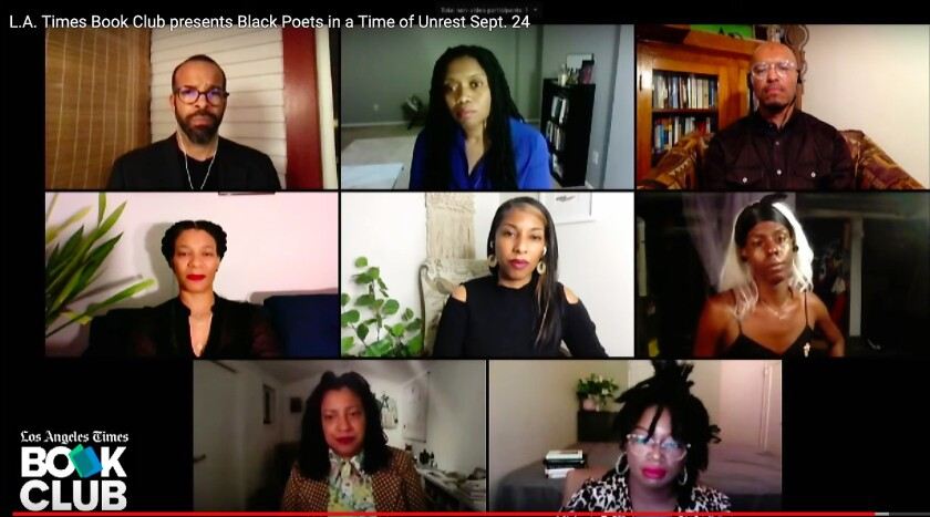 L.A. Times Book Club presents Black Poets in a Time of Unrest