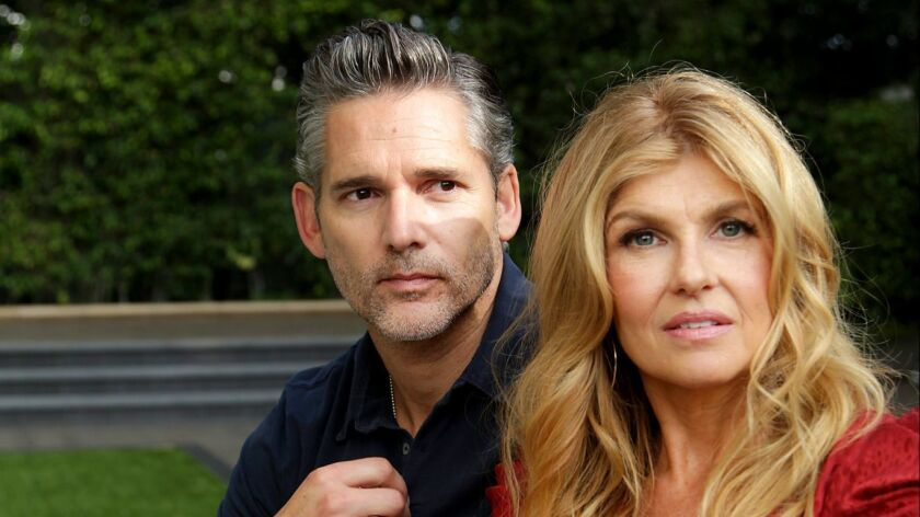 BEVERLY HILLS, CA., OCTOBER 25, 2018 ---Actors Connie Britton and Eric Bana star in DIRTY JOHN, Brav