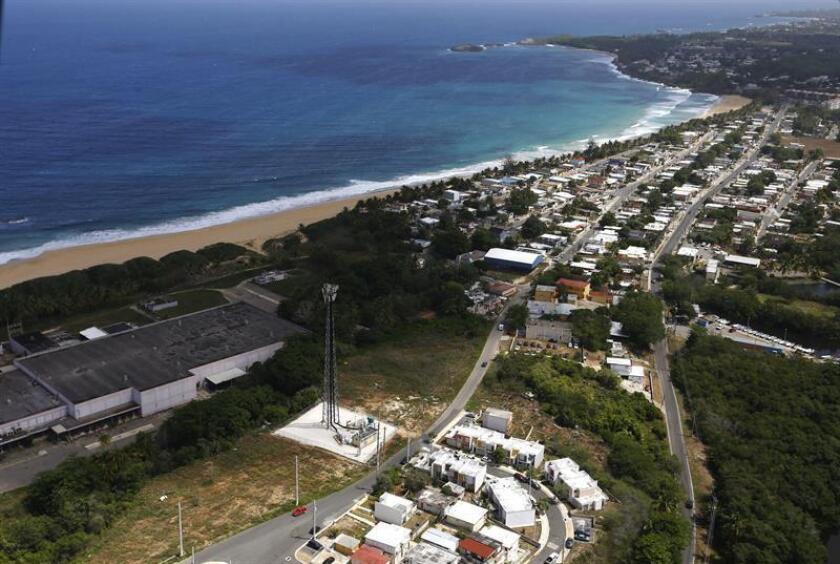 Vista aérea de Arecibo, Puerto Rico. EFE/Archivo