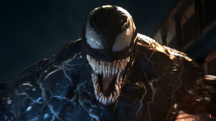 """One of Marvel's most complex characters comes to the big screen, starring Academy Award-nominated actor Tom Hardy as the Lethal Protector Venom in """"Venom."""""""