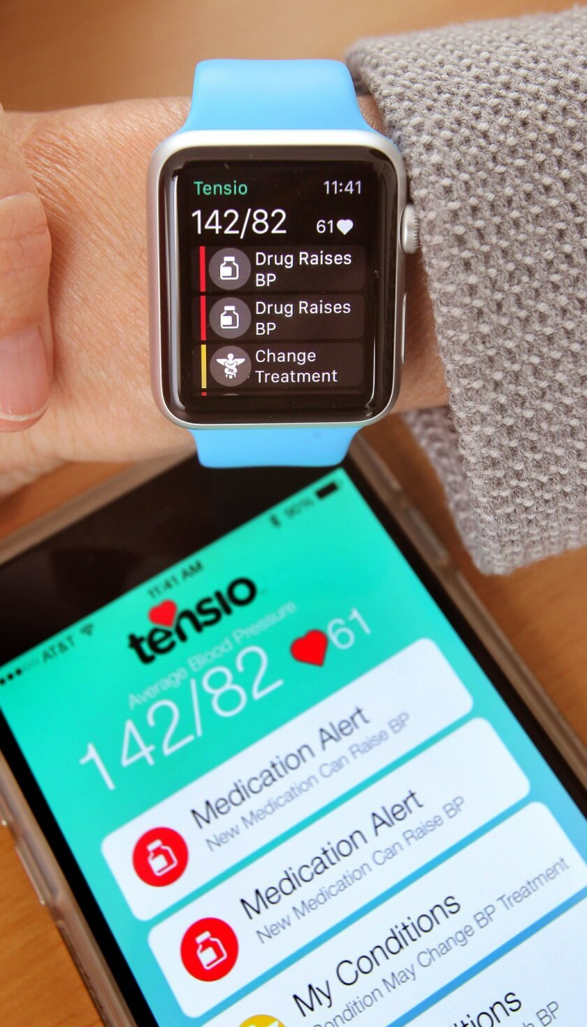 Humetrix's latest app, Tensio, helps patients manage hypertension. It was one of the apps announced with the launch of the Apple Watch in April.