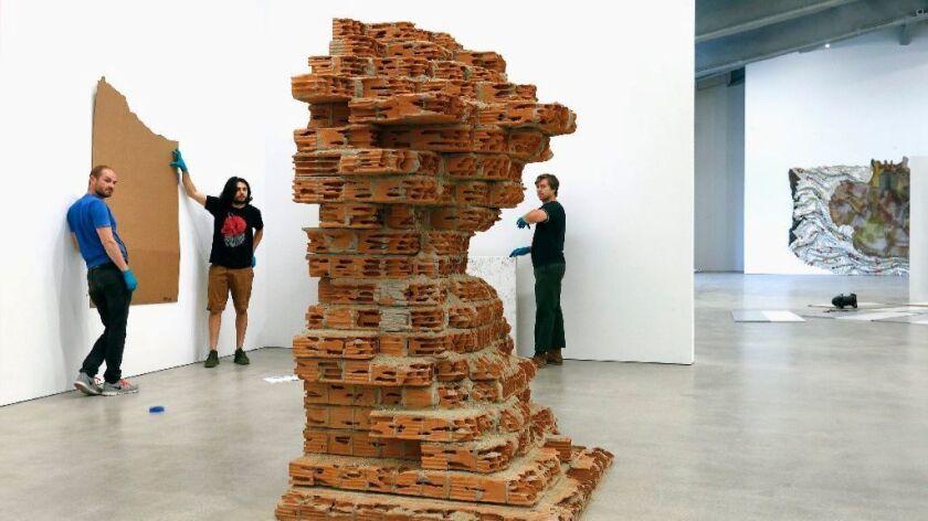 """Damian Ortega's """"Building #4"""""""