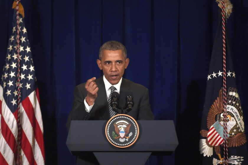 President Obama speaks during a news conference in Kuala Lumpur, Malaysia, on Sunday.