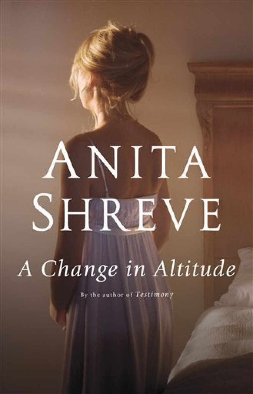 "In this book cover image released by Little, Brown and Company, ""A Change in Altitude,"" by Anita Shreve, is shown. (AP Photo/Little, Brown and Company)"