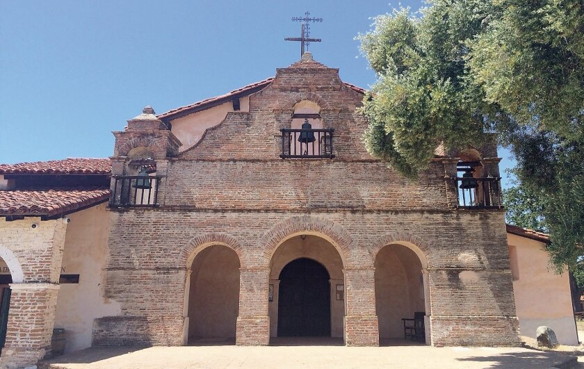 Antonio de Padua is located on land that was once part of the sprawling Hearst Ranch.