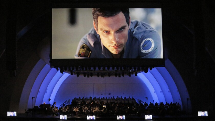 "The Hollywood Bowl makes an ideal venue for the L.A. Philharmonic to explore the classical music in Stanley Kubrick's ""2001."""