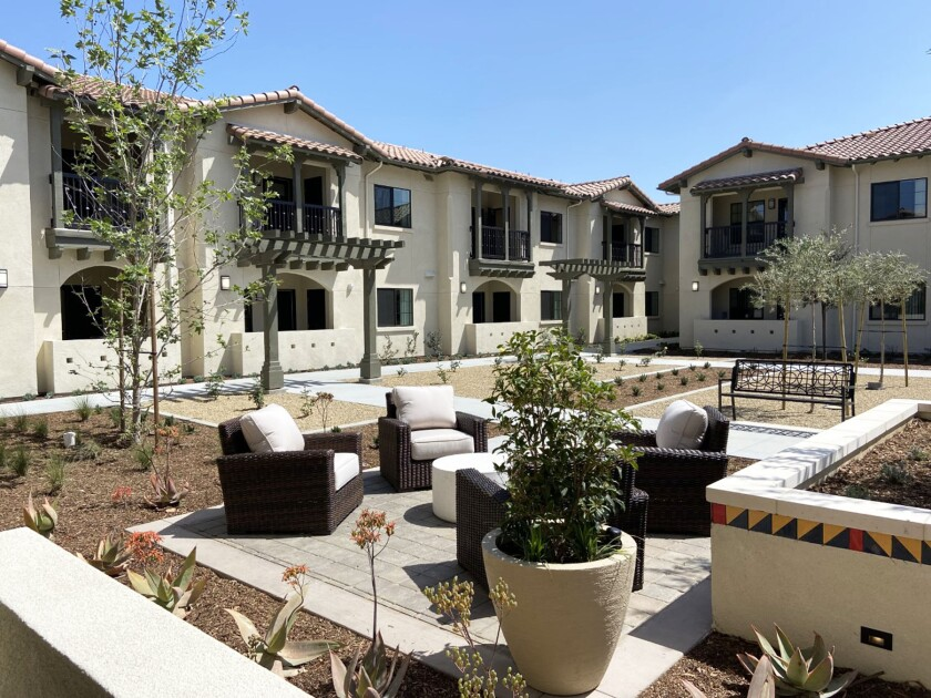 Villa de Vida in Poway is complete and undergoing final inspections. It is aiming to open in the third week of May.