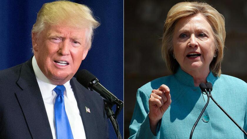 En una encuesta reciente, divulgada por la cadena Univision, Hillary Clinton obtuvo el 67% de opiniones a favor de votantes latinos, superando en un 48% al condendiente republicano. Donald Trump alcanzó el 19%.
