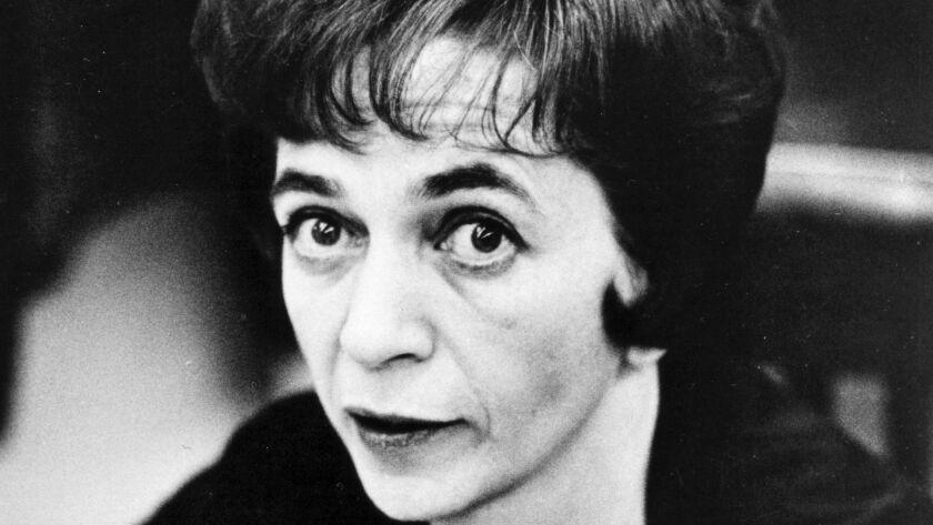 Undated photo of Judith Crist, film critic and author.