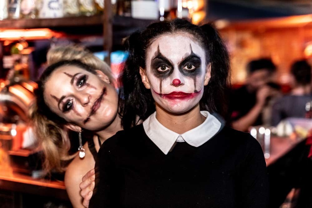 Spooky spirits, creepy costumes and drink specials were in order at the Coin Op Gaslamp on Saturday, Oct. 27, 2018.