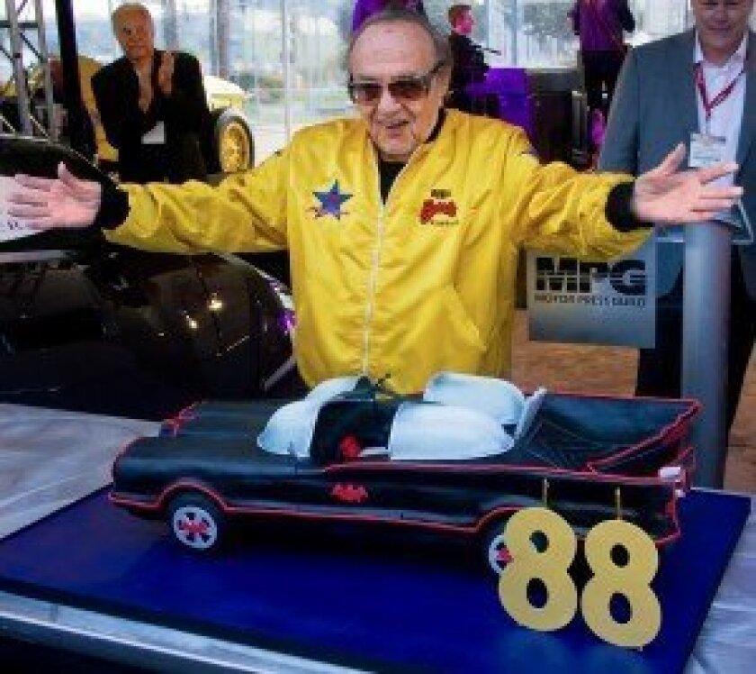 – 88th birthday boy George Barris at Motor Press Guild breakfast
