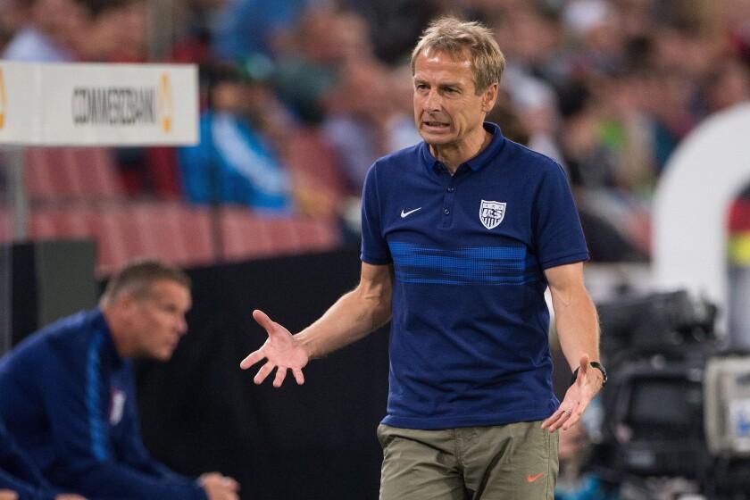 Klinsmann sacked as US head coach